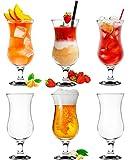 Platinux Cocktailgläser 400ml (max. 470ml) aus...