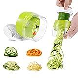 Adoric Spiralschneider Hand [ 3 in 1 ] Gemüse...