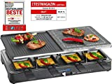 Clatronic RG 3518 Raclette-Grill mit heißem Stein...