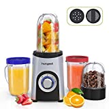 Homgeek Mixer Smoothie Maker, Mini Standmixer(350...