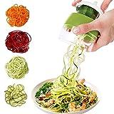 Spiralschneider 4 in 1 Gemüseschneider, Hand...