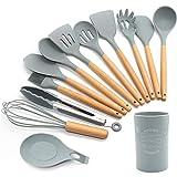 FXY Kochbesteck 13er Küchenutensilien silikon,...