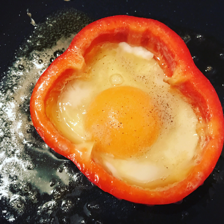 Paprikaring mit ei zu faul zum kochen - Ei kochen mit eierkocher ...