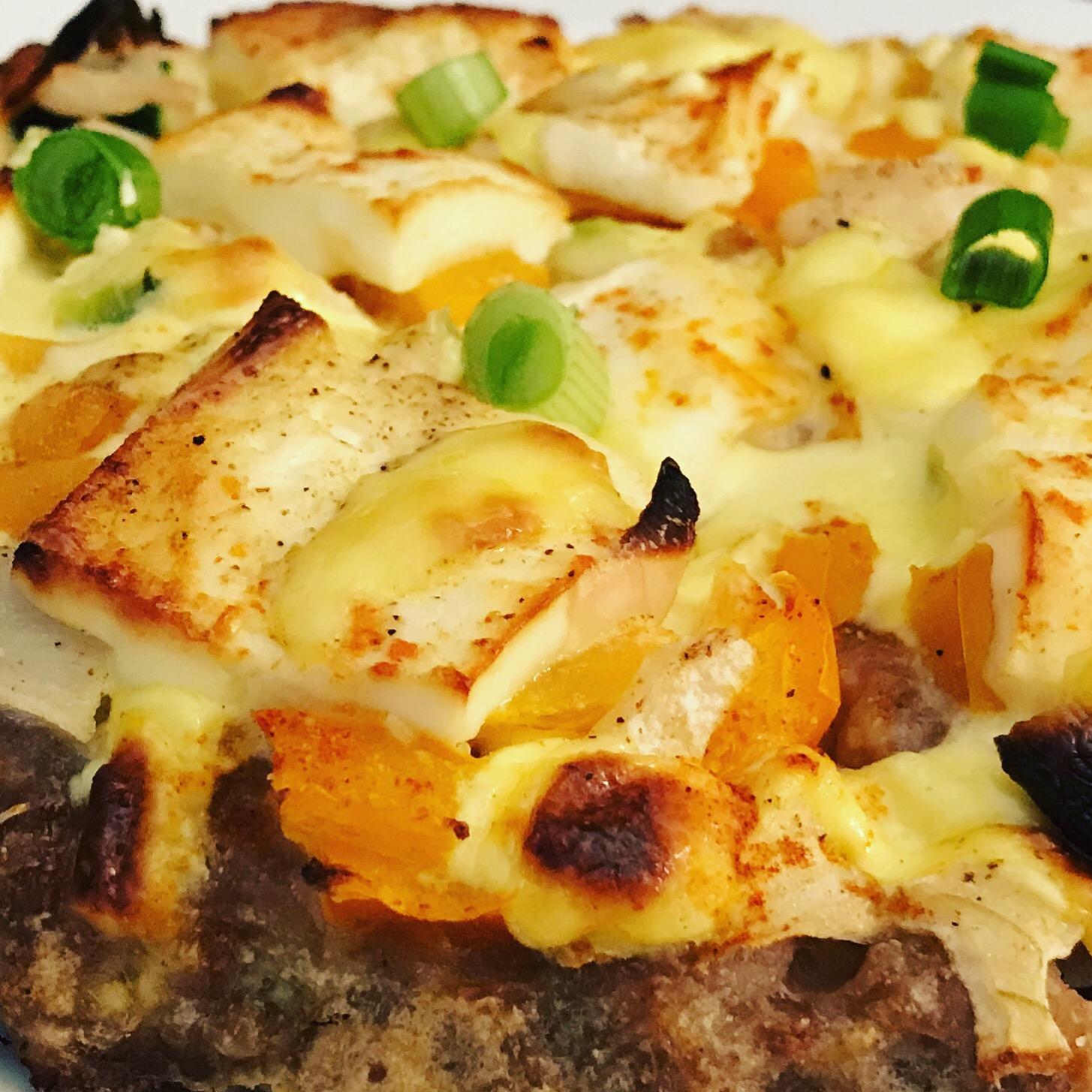 hackfleisch pizza mit feta und sauce hollandaise zu faul zum kochen. Black Bedroom Furniture Sets. Home Design Ideas